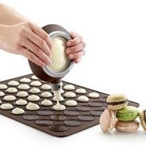 Siliconen bakmat / bakvorm voor Macarons - Geschikt voor 30 macarons