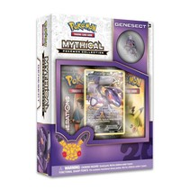 Mythical Collection Pin Box 10 Genesect - Pokemon Kaarten 20th Anniversary