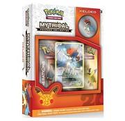 Pokemon Pokemon Kaarten TCG Mythical Collection 20th Anniversary Pin box 09 Keldeo