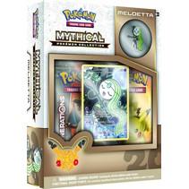 Pokemon Kaarten 20th Anniversary Tin box 11 Meloetta