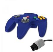 REBL N64 | Nintendo 64 controller met originele aansluiting | 1 stuk | Blauw