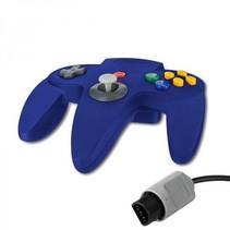 N64 | Nintendo 64 controller met originele aansluiting | 1 stuk | Blauw