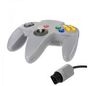 REBL N64 | Nintendo 64 controller met originele aansluiting | 1 stuk | Grijs