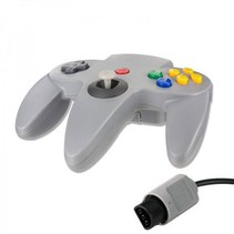 N64 | Nintendo 64 controller met originele aansluiting | 1 stuk | Grijs