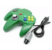 REBL N64 | Nintendo 64 controller met originele aansluiting | 1 stuk | Groen