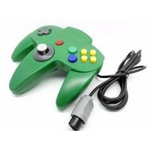 N64 | Nintendo 64 controller met originele aansluiting | 1 stuk | Groen