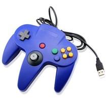 N64 | Nintendo 64 controller met USB aansluiting voor o.a. je Raspberry Pi| 1 stuk | Blauw