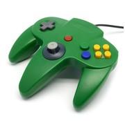 REBL N64 | Nintendo 64 controller met USB aansluiting | 1 stuk | Groen