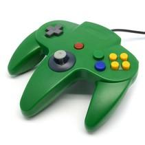 N64 | Nintendo 64 controller met USB aansluiting | 1 stuk | Groen