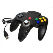 N64 | Nintendo 64 controller met USB aansluiting voor o.a. je Raspberry Pi| 1 stuk | Zwart