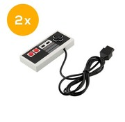NES | Nintendo Entertainment System controller met originele aansluiting | 2 stuks