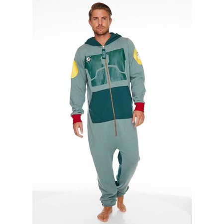 Disney Officiële Star Wars: Boba Fett Onesie / Jumpsuit | One size