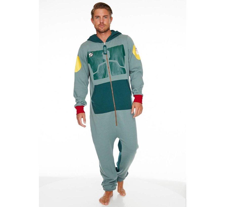 Officiële Star Wars: Boba Fett Onesie / Jumpsuit | One size