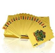 REBL Luxe Gouden Speelkaarten / Poker kaarten - Geplastificeerd