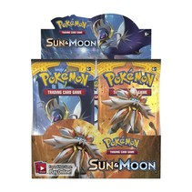 Pokemon Kaarten Sun & Moon Booster Box Display (36 Booster packs)