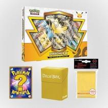 Pokemon kaarten TCG - Pikachu EX - Yellow Set