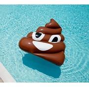 REBL Grote opblaasbare drol Emoji zwemband - Pool Float - 150 CM