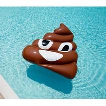 Grote opblaasbare drol Emoji zwemband - Pool Float - 150 CM