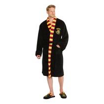 Zachte fleece badjas - Harry Potter: Zweinstein - Heren One size