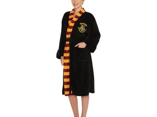 Harry Potter Zachte fleece badjas - Harry Potter: Zweinstein -  One size