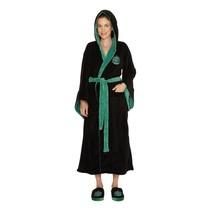 Zachte fleece badjas - Harry Potter: Slytherin / Zwadderich - Dames One size