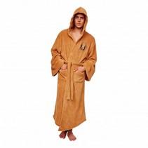 Zachte fleece badjas - Star Wars: Jedi master met capuchon - Lichtbruin - One size