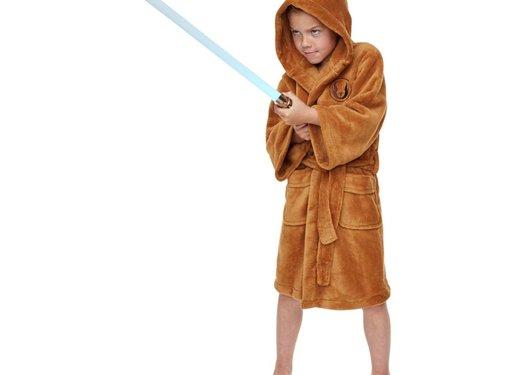 Star Wars Zachte fleece badjas - Star Wars: Jedi - Kinder badjas