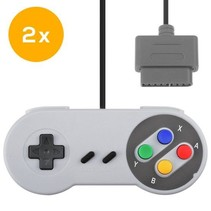 SNES | Super Nintendo controller met originele aansluiting | 2 stuks
