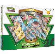 Pokemon kaarten TCG - Venusaur EX - 20th Anniversary Red & Blue Box