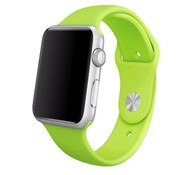 REBL Siliconen sport polsbandje voor de Apple Watch - Groen