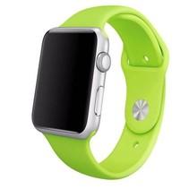 Siliconen sport polsbandje voor de Apple Watch - Groen