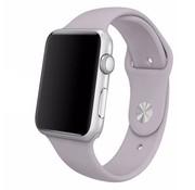 REBL Siliconen sport polsbandje voor de Apple Watch - Lavendel paars