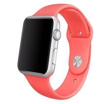 Siliconen sport polsbandje voor de Apple Watch - Roze