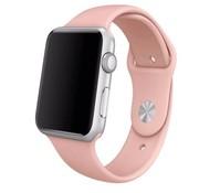 REBL Siliconen sport polsbandje voor de Apple Watch - Vintage Roze
