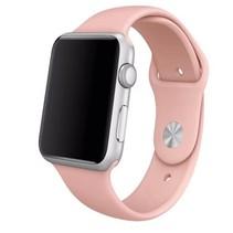 Siliconen sport polsbandje voor de Apple Watch - Vintage Roze