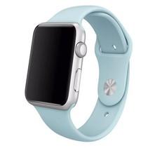 Siliconen sport polsbandje voor de Apple Watch - Turquoise