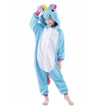 Blauwe Unicorn Onesie voor kinderen - Blauwe Unicorn Kigurumi Pyjama