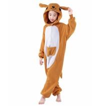Kangoeroe Onesie voor kinderen - Kangoeroe Kigurumi Pyjama