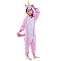 Roze Unicorn Onesie voor kinderen - Roze Unicorn Kigurumi Pyjama