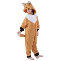Vos Onesie voor kinderen - Vos Kigurumi Pyjama