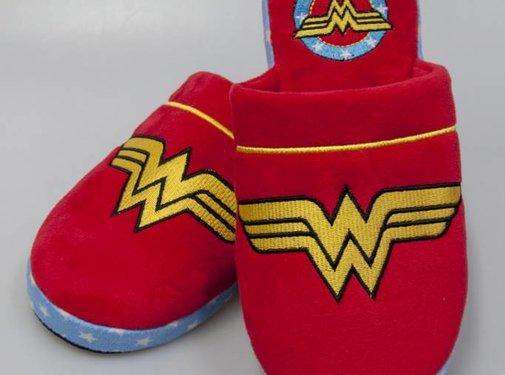 DC Comics Wonder Woman Retro DC Comics instap pantoffels