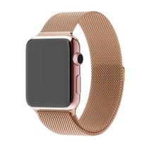 Milanese horloge bandje met magneetsluiting voor de Apple Watch - Rose Goud