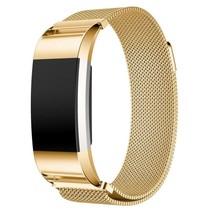 Fitbit Charge 2 Milanese Horloge Bandje met magneetsluiting - Goud