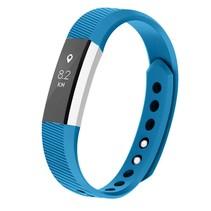 Siliconen polsbandje voor de Fitbit Alta / Alta HR - Blauw