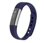 REBL Siliconen polsbandje voor de Fitbit Alta / Alta HR - Donkerblauw