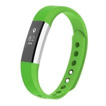 Siliconen polsbandje voor de Fitbit Alta / Alta HR - Groen
