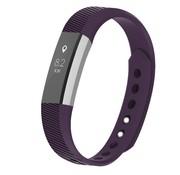 REBL Siliconen polsbandje voor de Fitbit Alta / Alta HR - Paars