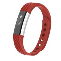 Siliconen polsbandje voor de Fitbit Alta / Alta HR - Rood