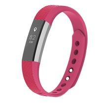 Siliconen polsbandje voor de Fitbit Alta / Alta HR - Roze