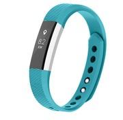 REBL Siliconen polsbandje voor de Fitbit Alta / Alta HR - Turquoise